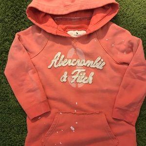 "Ambercrombie ""Paint Splattered"" Hoodie Sweatshirts"